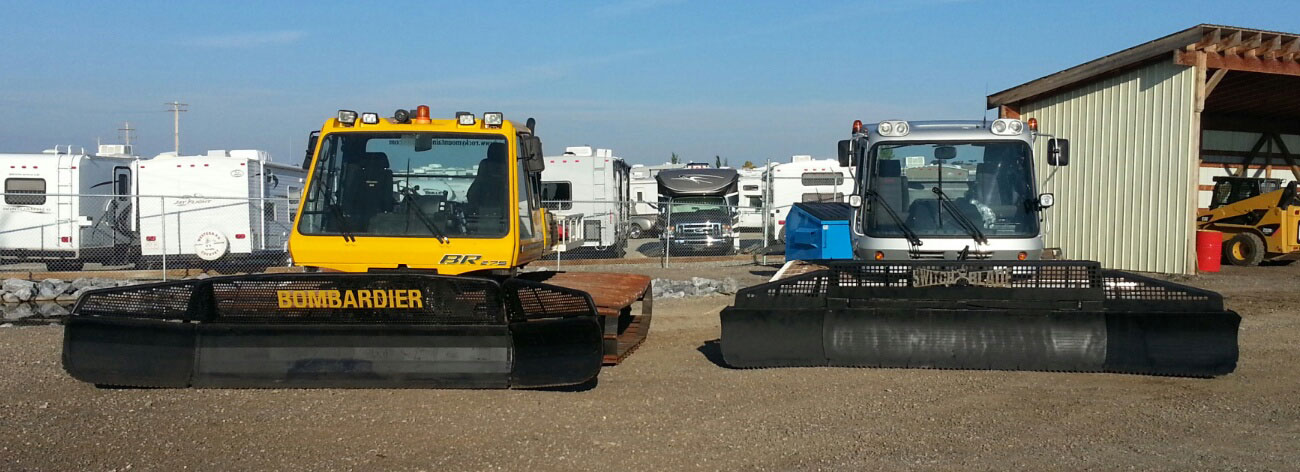 Our snowcat inventory is in top condition